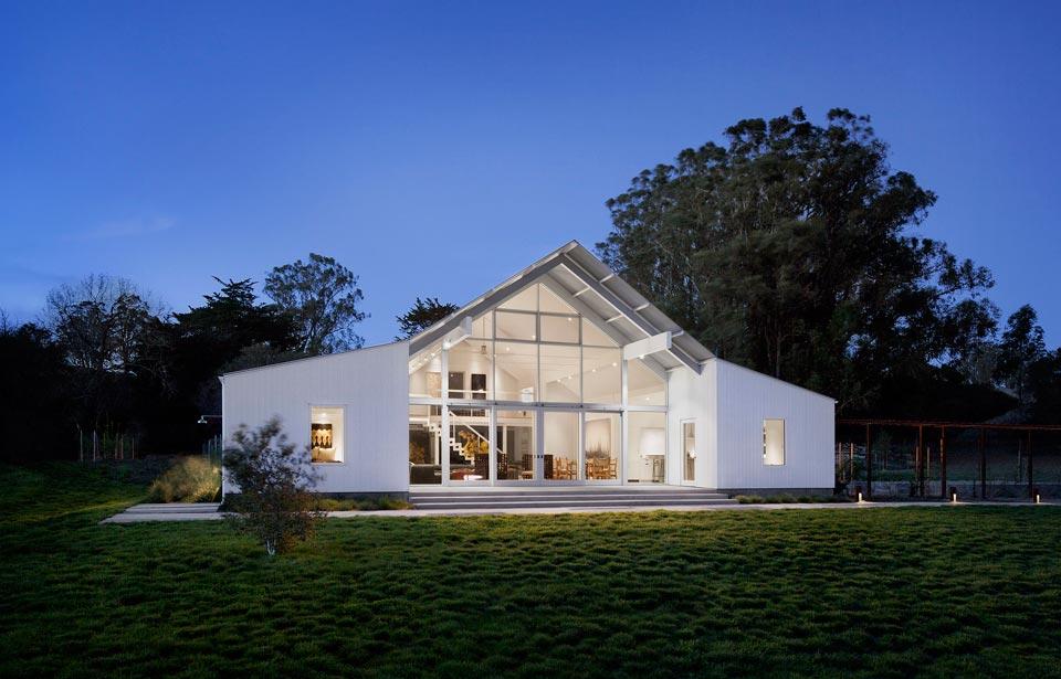 California barn house
