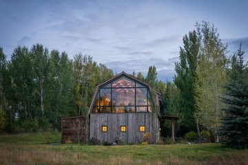 Wyoming Barn House