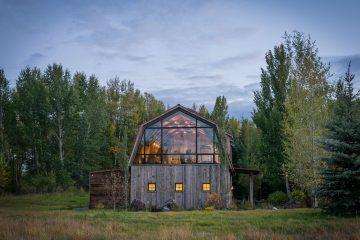 Wyoming Barn House