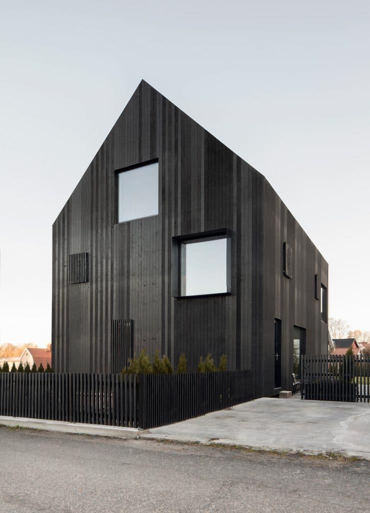 A Modern Barndominium in Sweden by Bornstein Lyckefors