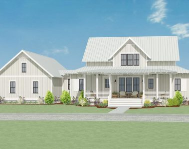 Sweet Little Farmhouse Plan 130007LLS