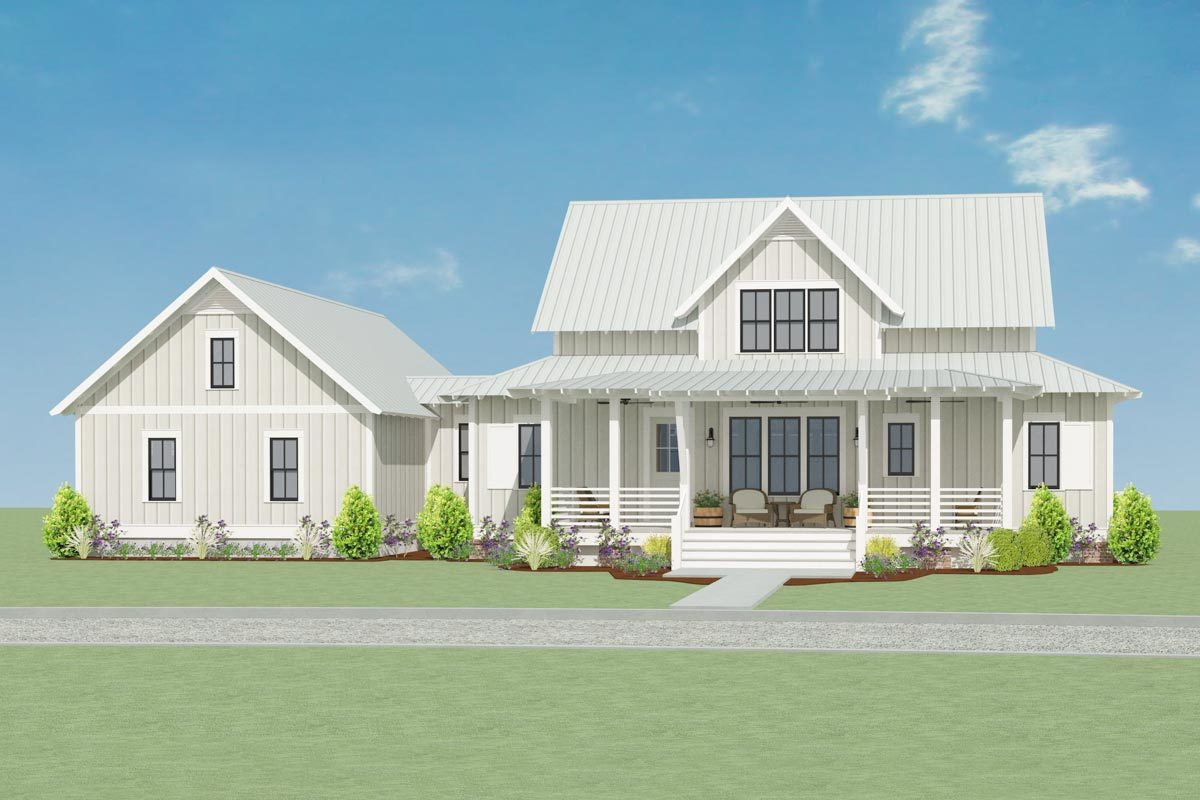 Sweet Little Farmhouse Plan 130007LLS