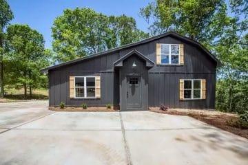 Black Beauty Georgia Barndominum House For Sale