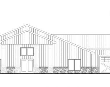 Shop House Floor Plan from Wick Buildings