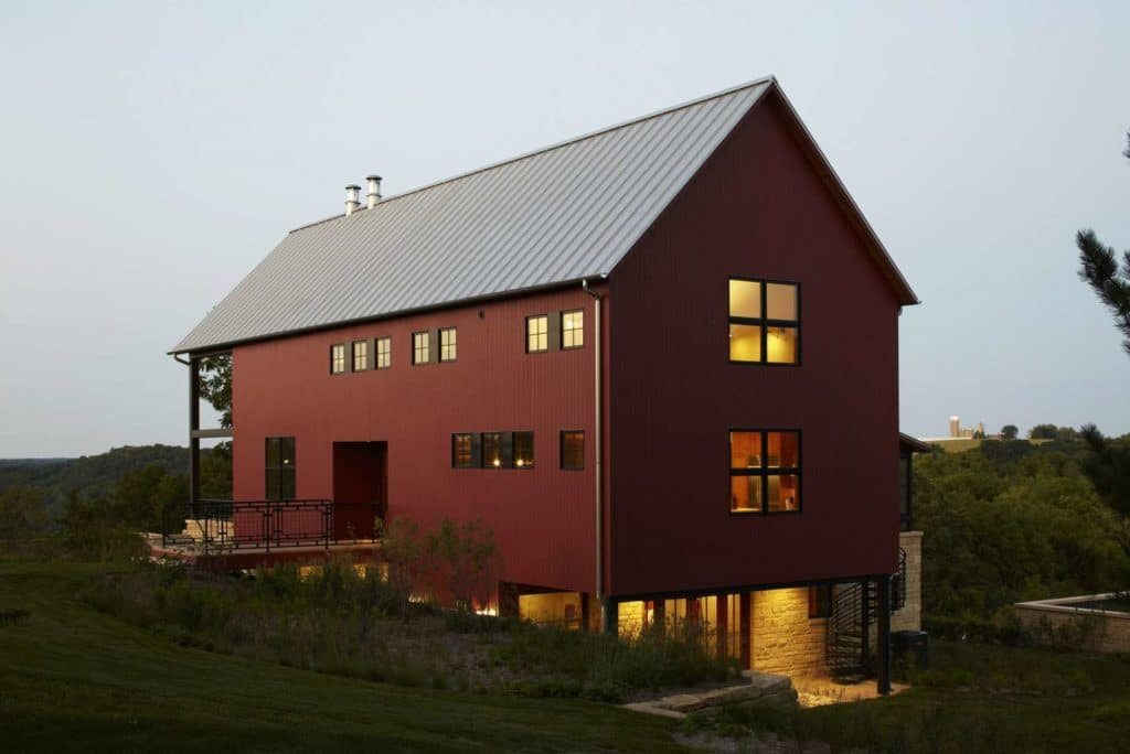 Modern Wisconsin Barn Home by northworks architects